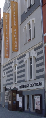 Vchod do Business centra